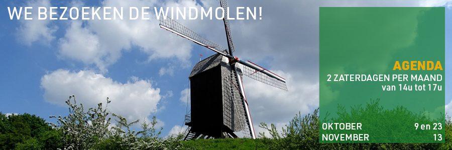 Woluwe 1200 - we bezoeken de windmolen
